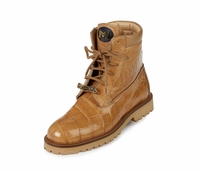 Mauri Commando 4637 Alligator Boots (Dune)-Blowout Sale!!