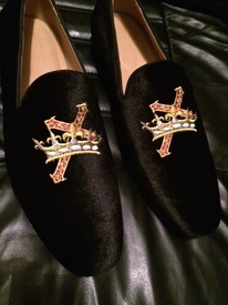 MorCouture Cross Crown Loafers (eta-Oct. Pre-order price $124.99)