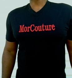 MorCouture Embroidered T-Shirt