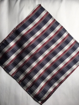 MorCouture Flag 8.5inch Silk Pocket Hanky