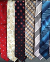 MorCouture Group L Silk Woven Neckties