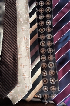MorCouture Group P Neckties