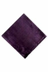 MorCouture Purple 17 x 17 Silk Pocket Hanky