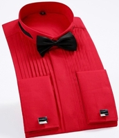 Red Tuxedo Shirt -special order