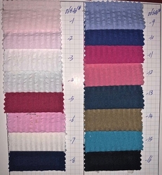 SeerSucker Fabric Color Chart#3 (select color by number)
