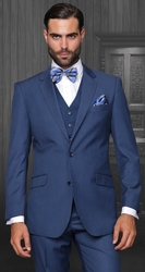 Blowout - Indigo 3pc Suit