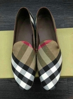 Tan Plaid shoes