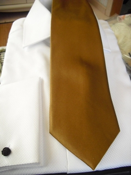 Tie33  Thick Silk (Taupe)