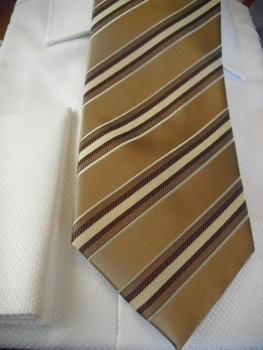 Tie55 with matching hanky