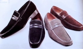 Trimmed Loafers