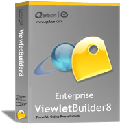 Upgrade to ViewletBuilder8 Enterprise from VB4/VB5/VB6 Pro Only - 1 User (Win)