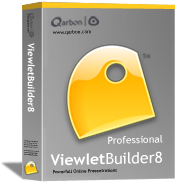 Upgrade to ViewletBuilder8 Pro from VB7 Pro - 1 User (Win) + 1 Yr Plan