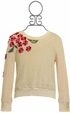 Baby Sara Girls  Sweater  with Flowers (Size 4) Alternate View