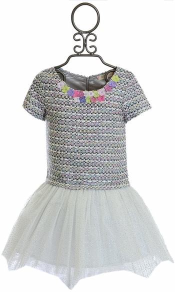 Baby Sara Party Dress for Little Girls (Size 6)