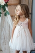 Baby Sara Sequin Bow Tulle Dress (SOLD OUT) Alternate View #3