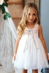 Baby Sara Sequin Bow Tulle Dress (SOLD OUT) Alternate View #4