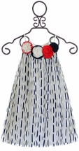 Baby Sara White Dress with Petals (Size 4)