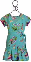 Bela & Nuni Girls Spring Dress Floral (10 & 12)