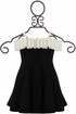 Biscotti Black and Ivory Party Dress SOLD OUT Alternate View