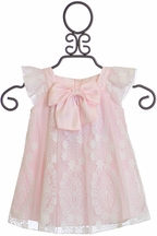 Biscotti Fairytale Endings Dress in Pink (Size 12Mos)
