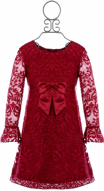 Biscotti Red Lace Dress Holiday SOLD OUT