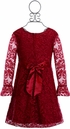 Biscotti Red Lace Dress Holiday SOLD OUT Alternate View #2