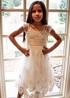 Biscotti Vintage Lace Dress Ivory (12Mos,3T,5,6,6X) Alternate View #3