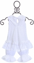 Cach Cach Top and Bloomer Set in White SOLD OUT Alternate View