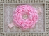 Classy Baby Large Flower Light Pink Headband Alternate View