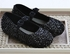 Coastal Projections Black Sequin Girls Shoe (0i,1i,2i) Alternate View
