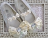 Coastal Projections Girls Ivory Sequin Shoes (0Infant & 1Infant) Alternate View