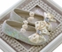 Coastal Projections Girls Ivory Sequin Shoes (0Infant & 1Infant) Alternate View #2