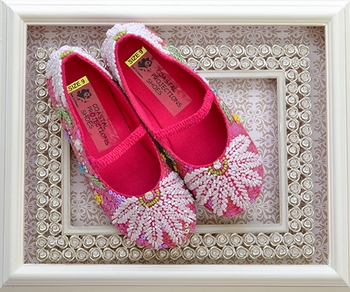 Coastal Projections Sequin Shoes in Hot Pink (6,8,10)