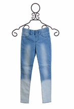 Dex Dip Dye Denim Jeggings (Size  LG 14)