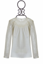 Dex Ivory Lace Top (MD 10/12 & LG 14)