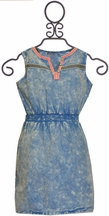 Dex Retro Acid Wash Dress (MD 10, LG 10/12, XL 12/14)