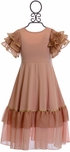 DollBaby Bow of Bronze Dress (7 & 8) Alternate View #2