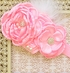 DollBaby Chiffon Flower Headband in Pink Alternate View