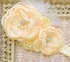 DollBaby Jewelled Rosette Headband in Ivory Alternate View
