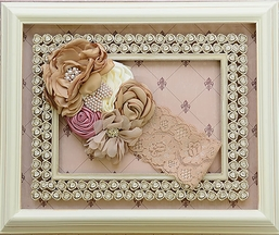 DollBaby Like a Garden Girls Headband