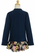 DollBaby Navy Fall Jacket for Girls Alternate View #2