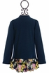 DollBaby Navy Fall Jacket for Girls Alternate View