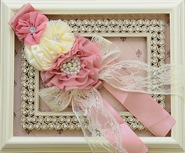 DollBaby Rose in the Morning Pink Sash