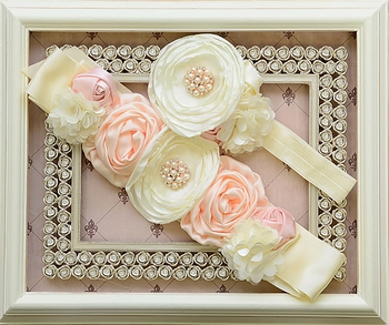 DollBaby Sweet to the Soul Headband and Sash