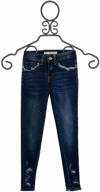 Edgy Detail Jeans (7,8,10)