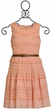 Elegance Never Fades Coral Dress (Size 10)