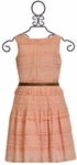 Elegance Never Fades Coral Dress (SOLD OUT) Alternate View