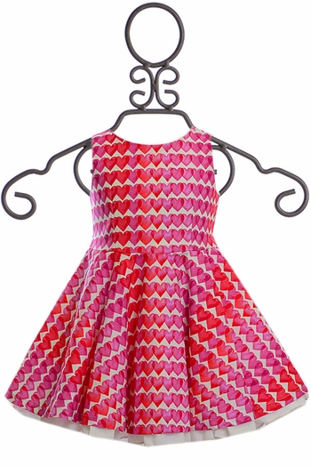 Five Loaves Two Fish Heart to Heart Dress (Size 2)