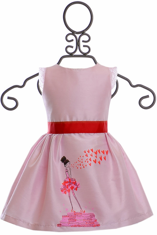 c538cd9c6a0d Five Loaves Two Fish Kisses from Paris Dress|In Stock