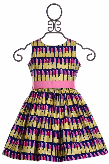 Five Loaves Two Fish Lipstick Dress (Size 2)